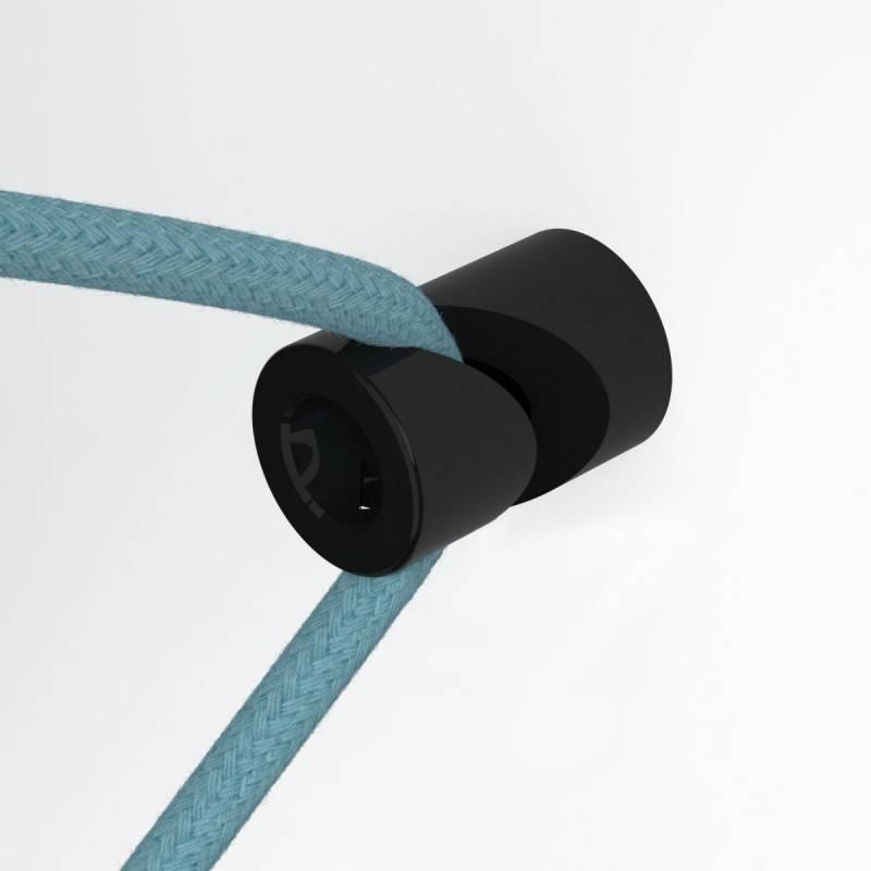 Kit de décentralisation, crochet en 'V' au mur ou au plafond pour câble électrique textile
