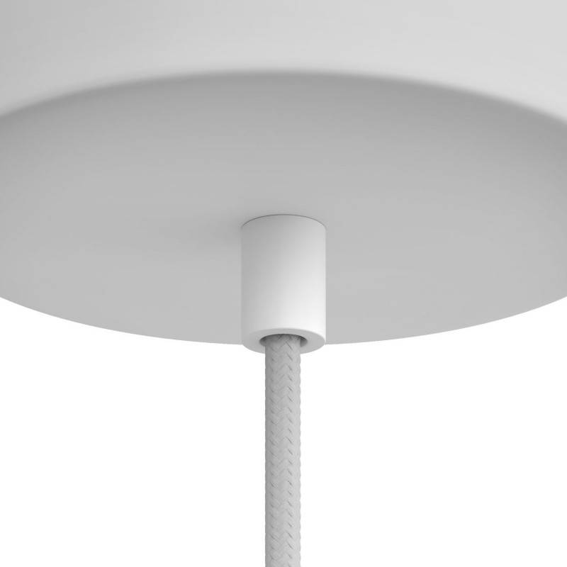 Serre-câble cylindrique en métal avec tige, écrou et rondelle