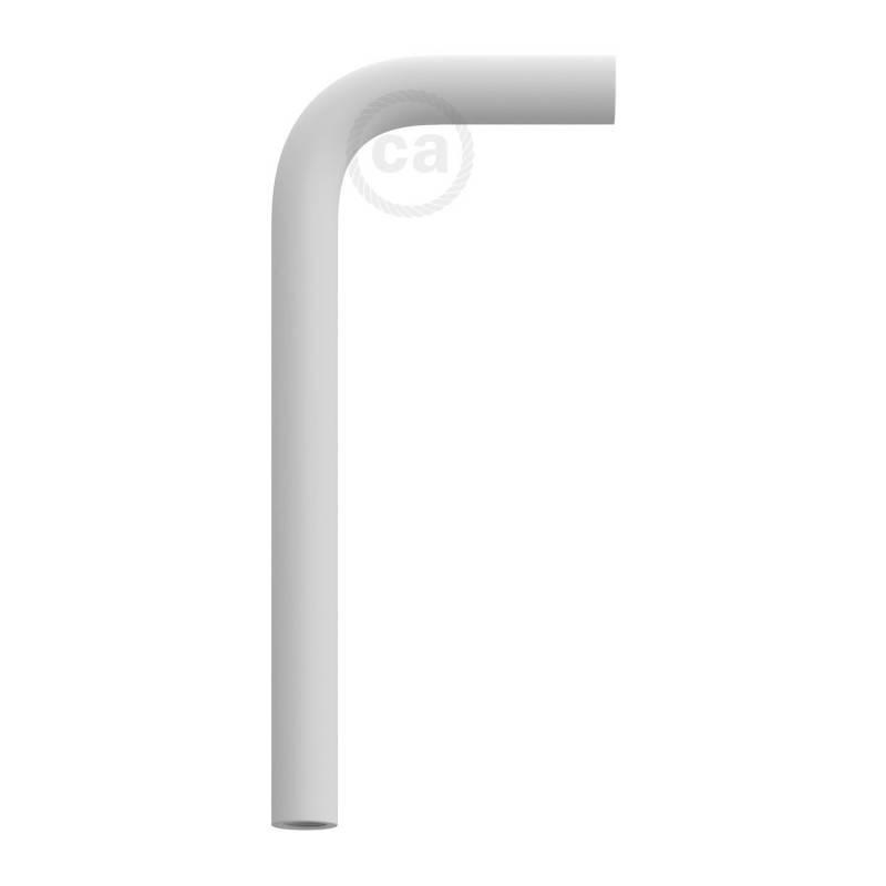 Tube d'extension 14 cm incurvé en métal