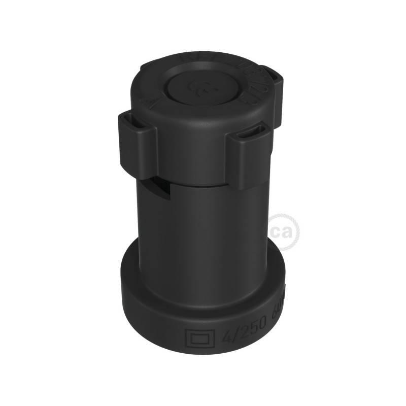 Douille E27 pour Guirlande en thermoplastique noire