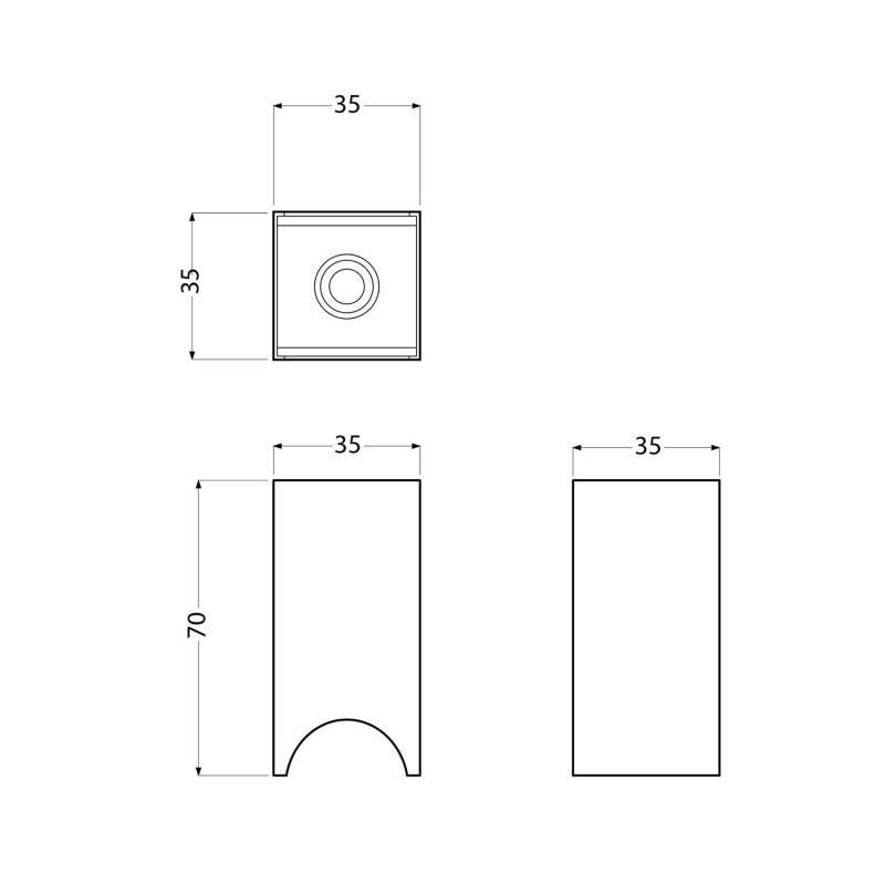 Kit douille Syntax S14d pour ampoule LED linéaire