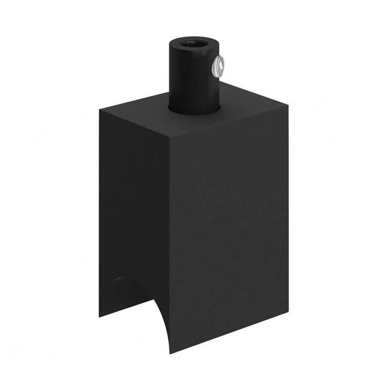 Syntax - Minimalistische zwarte thermoplastiche connector voor S14d buislampen