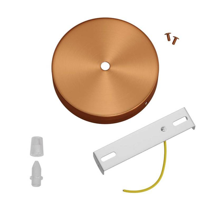 Kit rosace métallique cylindrique