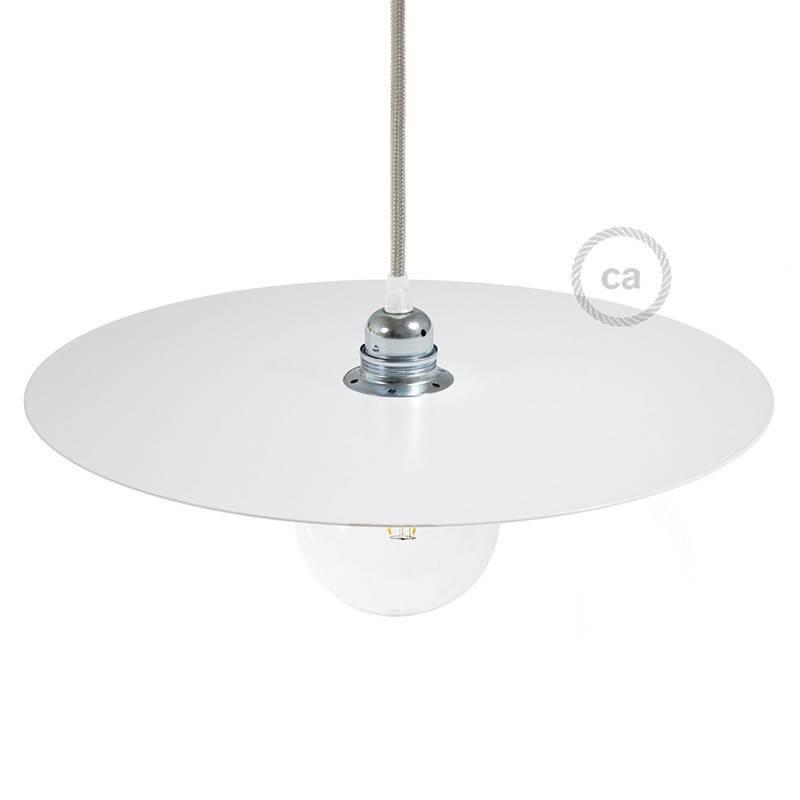 Plat pour suspension Ellepi en fer oversize, diamètre 40 cm, - Made en Italy