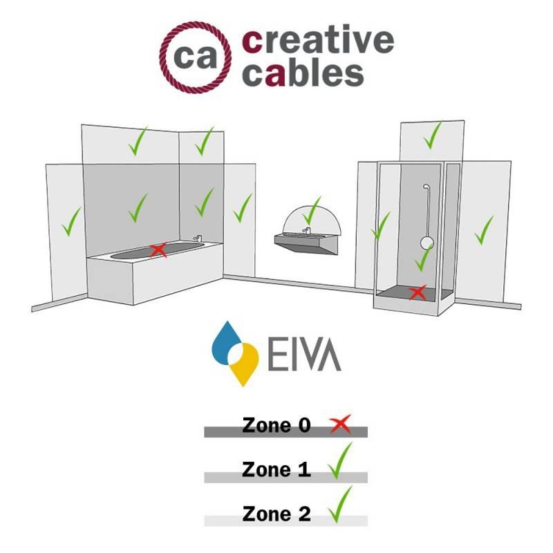 Fermaluce EIVA avec extension courbée et abat-jour Swing