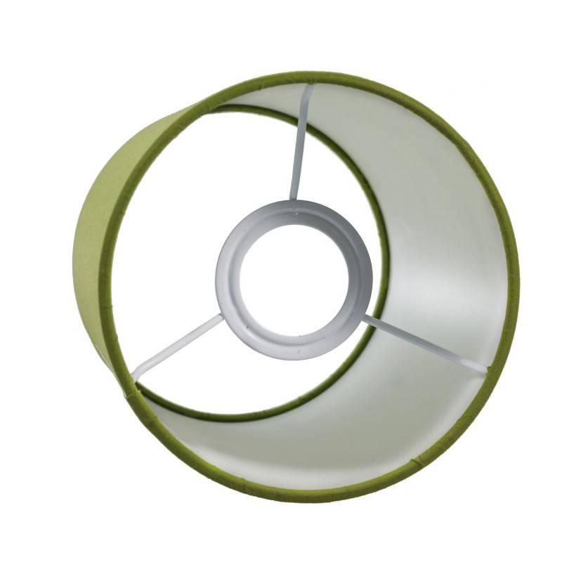 Abat-jour Cilindro en tissu avec culot E27 - 100% Made in Italy