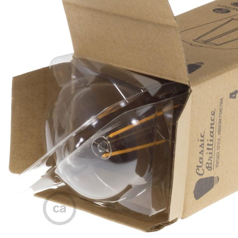 Ampoule Transparente LED Edison ST64 Filament Long 4W Décorative Vintage 2200K