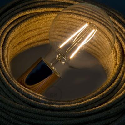 Ampoule Transparente LED Globo G95 Filament Long 4W Décorative Vintage 2200K
