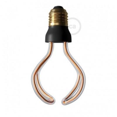 LED Art Globo lichtbron 12W E27 dimbaar 2200K
