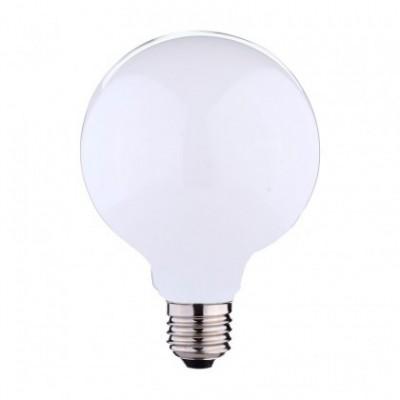 Ampoule LED globe G125 forte intensité blanc lait 11W E27 2700K