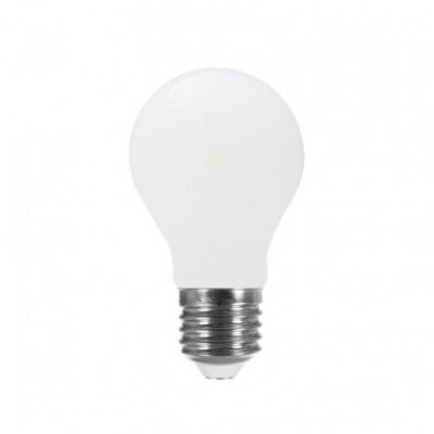 Ampoule LED Goutte A60 forte intensité blanc lait 8W E27 2700K
