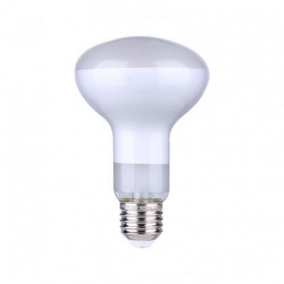 LED lichtbron R80 satijn 7W E27 dimbaar 2700K