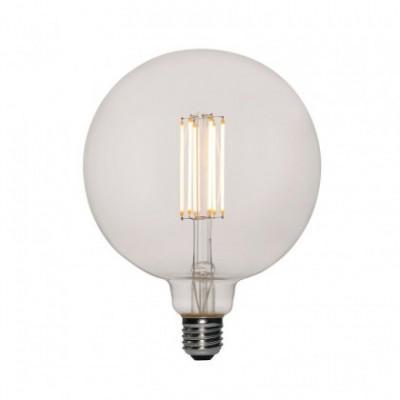 Ampoulle transparente LED XXL Sphère G155 filement droit 7W E27 Dimmable 2200K