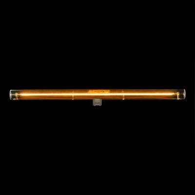 Ampoule tube LED dorée S14d - 500 mm de longueur 8W 2000K dimmable - pour Syntax