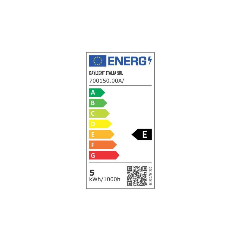Ampoule LED tubulaire 4,5W E14 Claire Dimmable