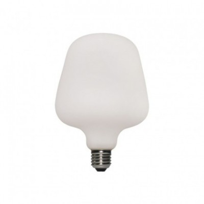 LED lichtbron Zante met porselein effect 6W E27 dimbaar 2700K