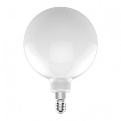 Ampoule Milky LED XXL Sphère G200 12W E27 2700K Dimmable