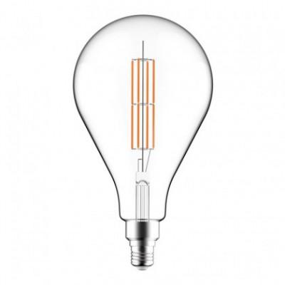 Ampoule Trasparente LED XXL Poire A165 Double Filament Droit 11W E27 2700K Dimmable