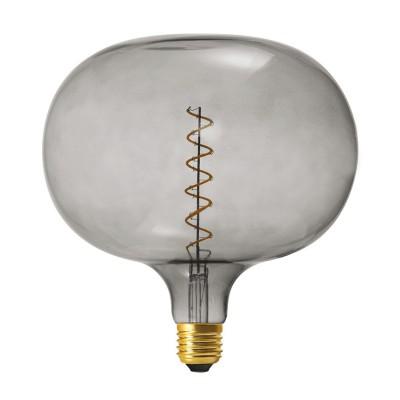 Ampoule LED XXL Cobble ligne Pastel Grey filament en spirale 4W E27 Dimmable 2100K