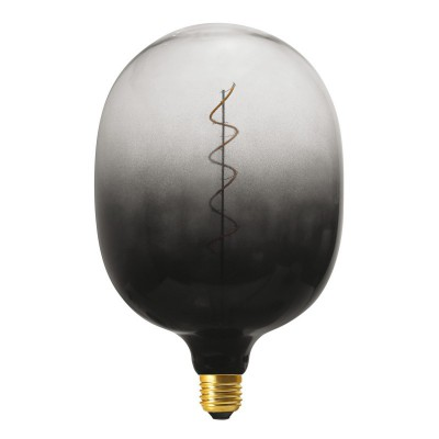 Ampoule LED XXL Egg ligne Pastel Dark Shadow filament en spirale 4W E27 dimmable 2100K