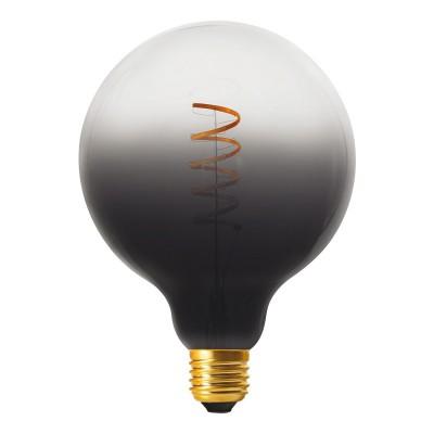 Ampoule LED Globe G125 ligne Pastel Dark Shadow filament en spirale 4W E27 dimmable 1900K