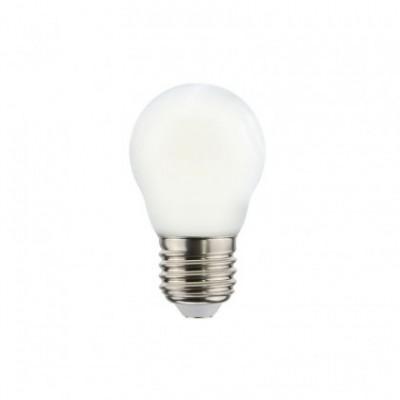 LED lichtbron Mini Globe G45 Milky decoratief 2,2W E27 2700K