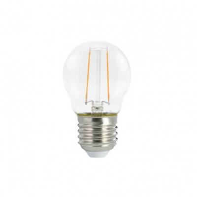 Ampoule LED Mini Globe G45 Décorative Clear 2W E27 2700K