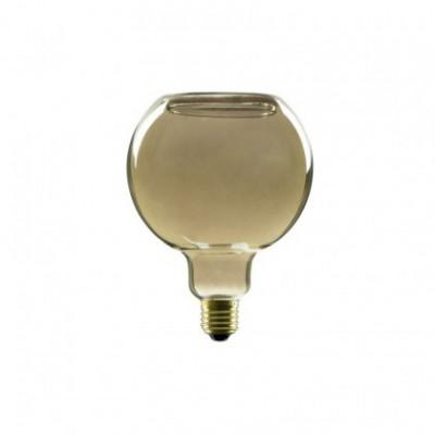 LED-lichtbron Bol G125 Smoky Floating-Collectie 8W Dimbaar 2000K