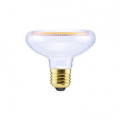 LED-lichtbron Reflector R80 Clear Floating-Collectie 8W Dimbaar 2200K
