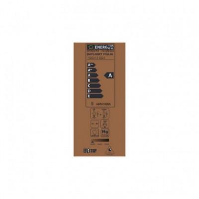 Gouden Edison ST64 LED Lichtbron dubbel gebogen en spiraal filament 5W E27 dimbaar 2000K