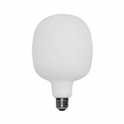 LED lichtbron - porselein Rodi 6W E27 dimbaar 2700K