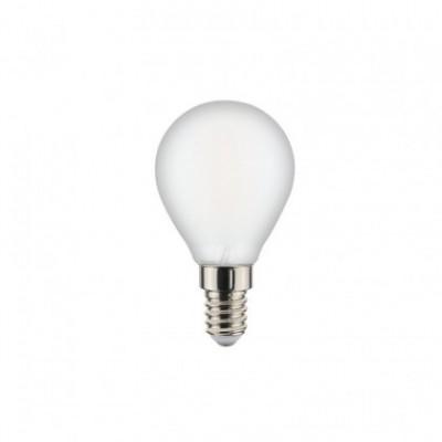 LED lichtbron met filament Sfera Milky 6W E14 2700K