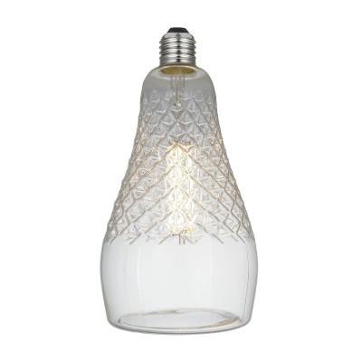 Iris LED-lichtbron Clear Crystal-Lijn 6W E27 Dimbaar 2700K
