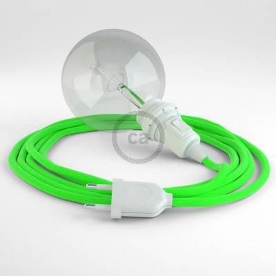 Créez votre Snake pour Abat-jour Vert Fluo RF06 et apportez la lumière là où vous souhaitez.