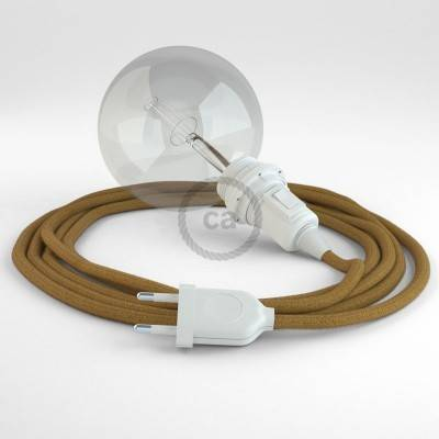 Créez votre Snake pour Abat-jour Coton Miel Doré RC31 et apportez la lumière là où vous souhaitez.