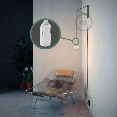 Créez votre Snake Coton Gris Vert RC63 et apportez la lumière là où vous souhaitez.