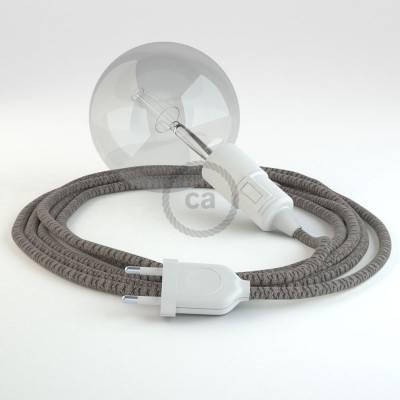 Créez votre Snake Losange Anthracite RD64 et apportez la lumière là où vous souhaitez.