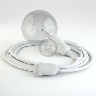 Créez votre Snake Effet Soie Blanc RM01 et apportez la lumière là où vous souhaitez.
