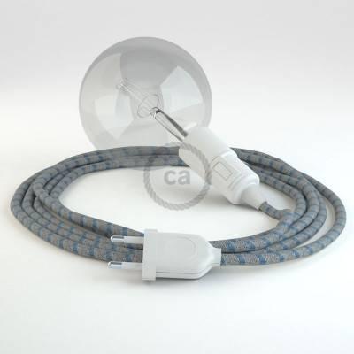 Créez votre Snake Stripes Bleu Steward RD55 et apportez la lumière là où vous souhaitez.