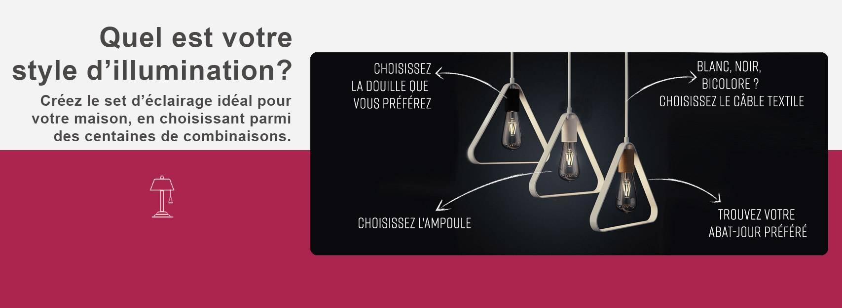 Créez le set d'éclairage idéal