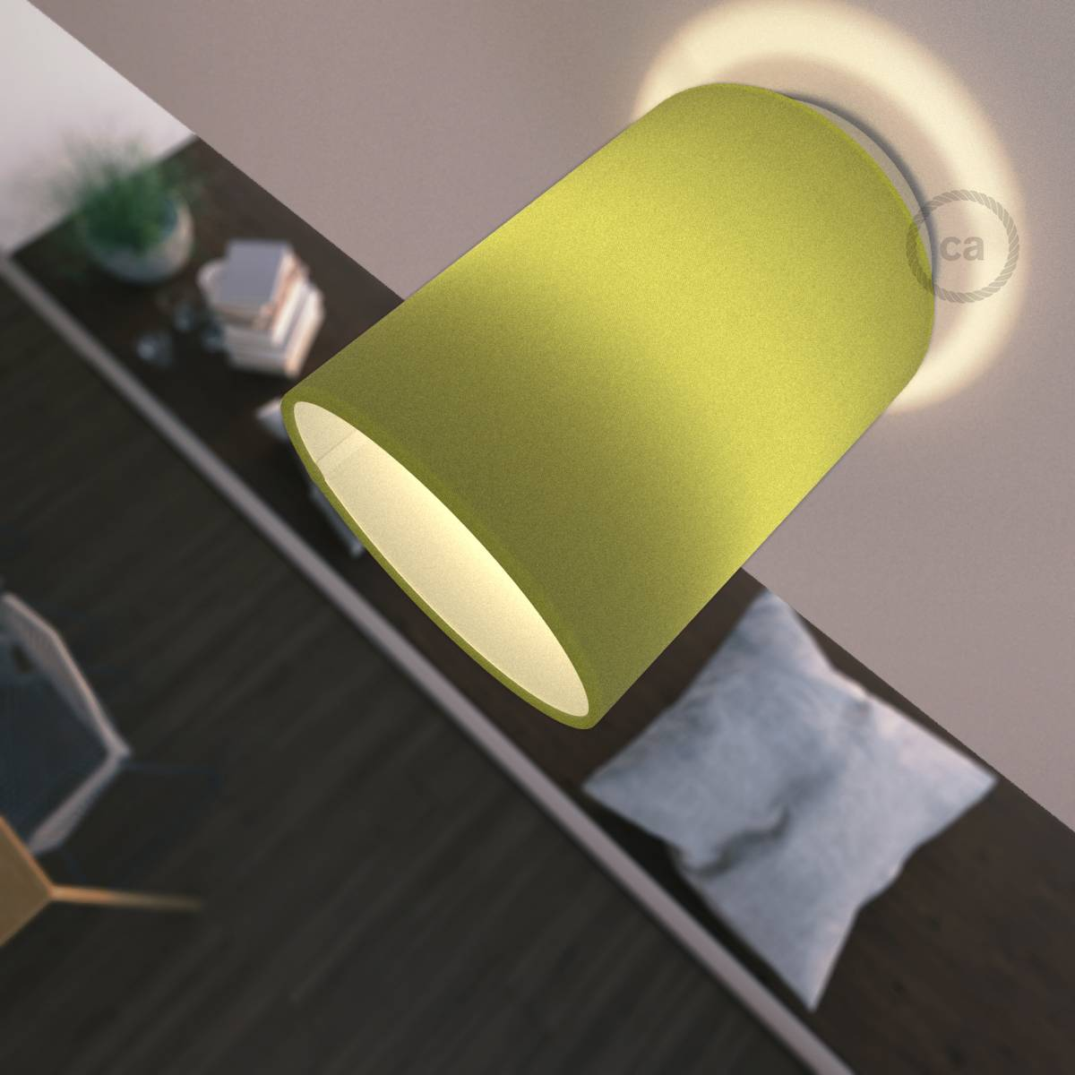 Abat Jour Cilindro fermaluce arrive avec un abat-jour cylindrique ! - creative