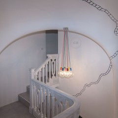 Bed And Breakfast Turin Très Chic: suspension pour escalier