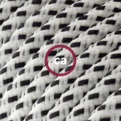 Stracciatella et Étoiles: découvrez la texture incroyable de nouveaux câbles en tissu effet 3D