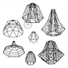 Les nouvelles cages abat-jour chez Creative-Cables: formes et dimensions sans précédents!