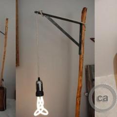 Anna-Lyse Jeandel: lampe en bois
