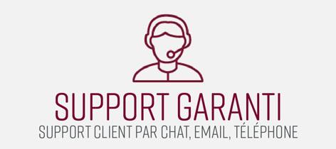 Support garanti